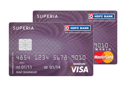 Types of credit cards provided by HDFC Bank