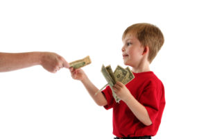 Teach kids for responsible of money