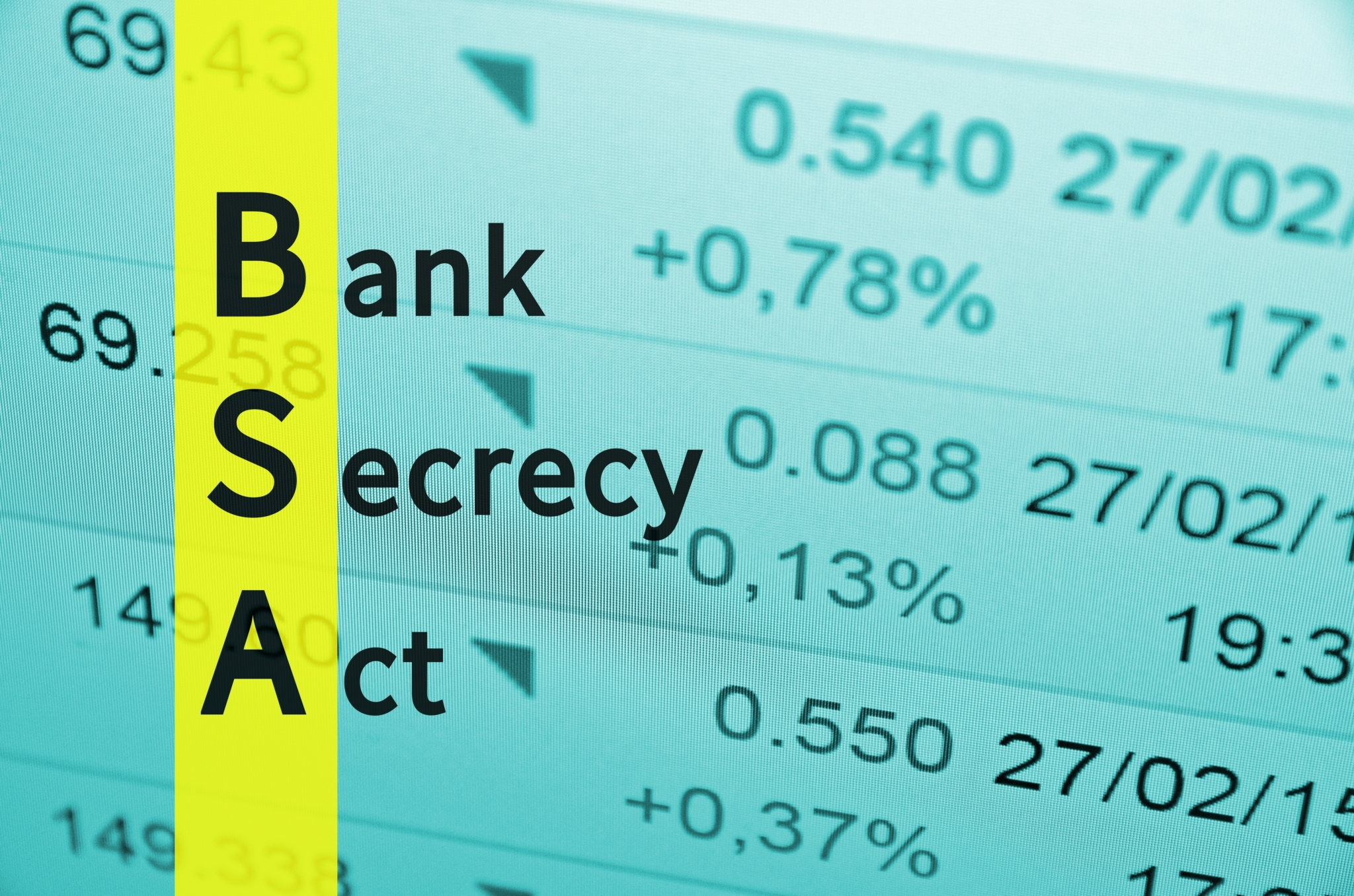 Bank Secrecy Act of 1970